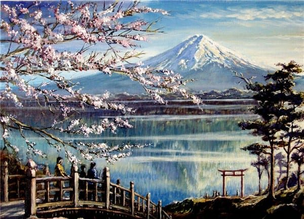 Photo of Mount Fuji Design