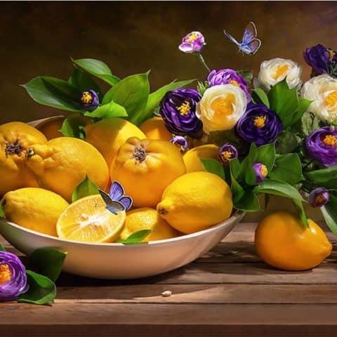 Photo of Lemon Basket Design