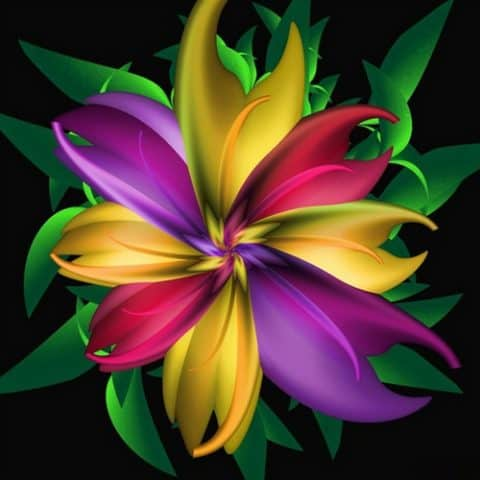 Photo of Flower Portrait Design