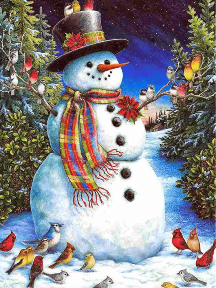 Photo of the Snowman Design