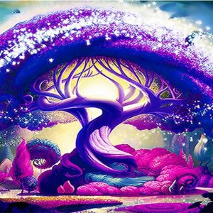 Photo of Purple Tree Design