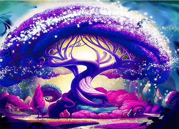 Photo of Purple Tree Design
