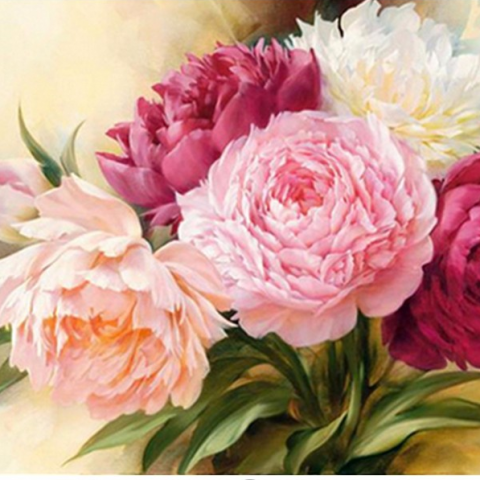 Photo of Peony Bouquet Design