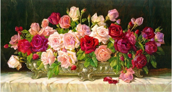 Photo of Table Roses Design