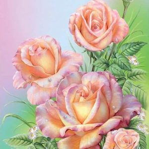 Photo of Pastel Roses Design