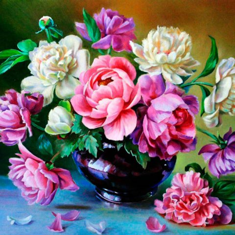 Photo of Pink and White Roses Design
