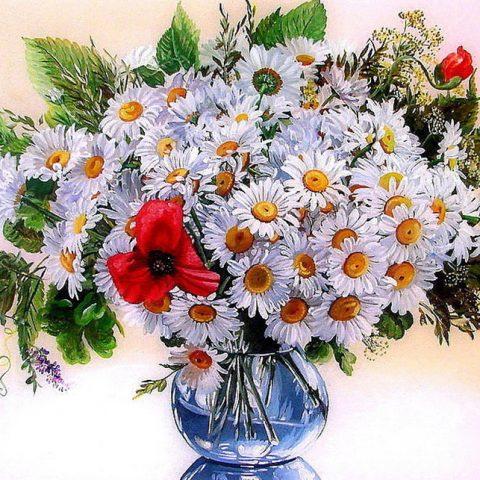 Photo of Daisy Vase Design