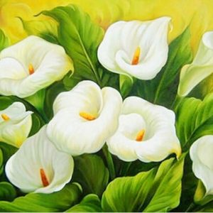 Photo of Calla Lilies Diamond Painting Design