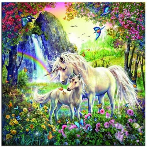 Photo of Unicorn Rainbows Design