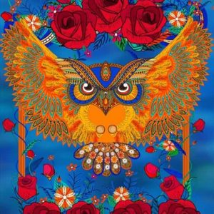 Photo of Owl Roses Design