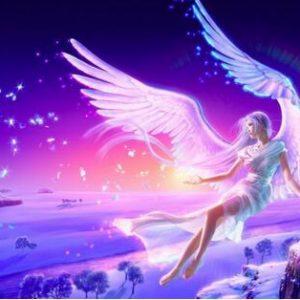 Photo of Fairy Sunset Diamond Painting Design