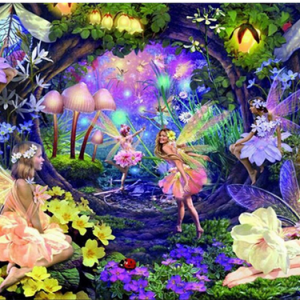 Photo of Fairy Forest Diamond Painting Design