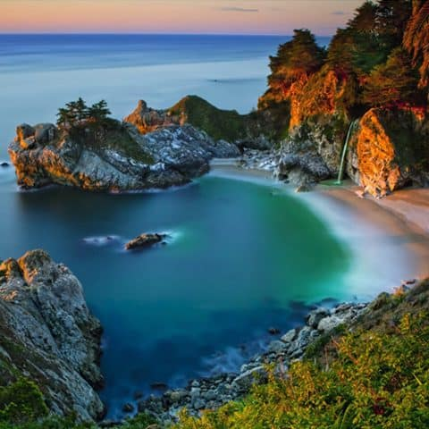 Photo of Sunset Sea Diamond Painting Design