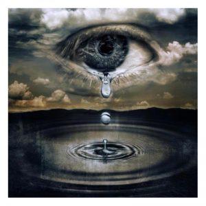 Photo of Eye Tear Diamond Painting Design