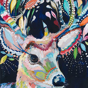Photo of Acrylic Deer Diamond Painting Design