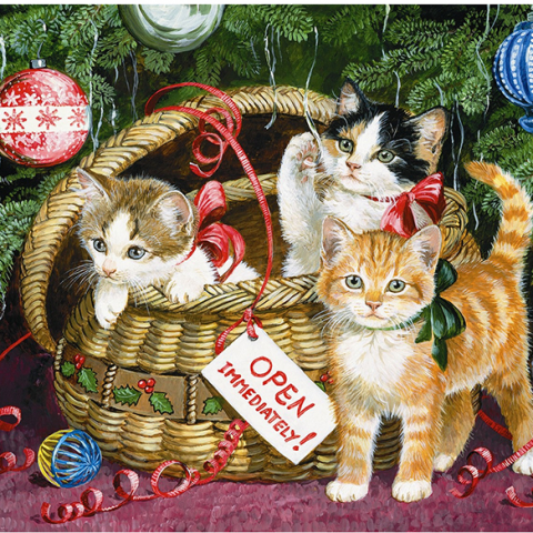 Photo of Celebration Cats Diamond Painting Design