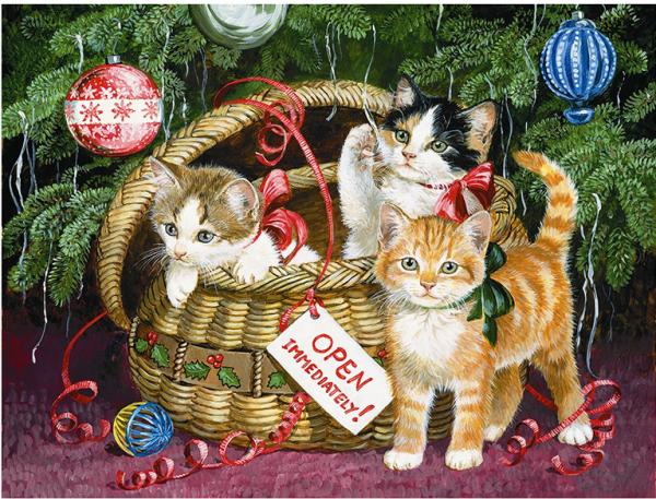 Photo of Celebration Cats Diamond Painting Design