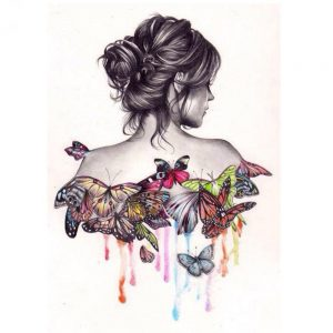 Photo of Butterfly Beauty Diamond Painting Design