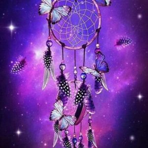 Photo of Cosmic Dreamcatcher Diamond Painting Design