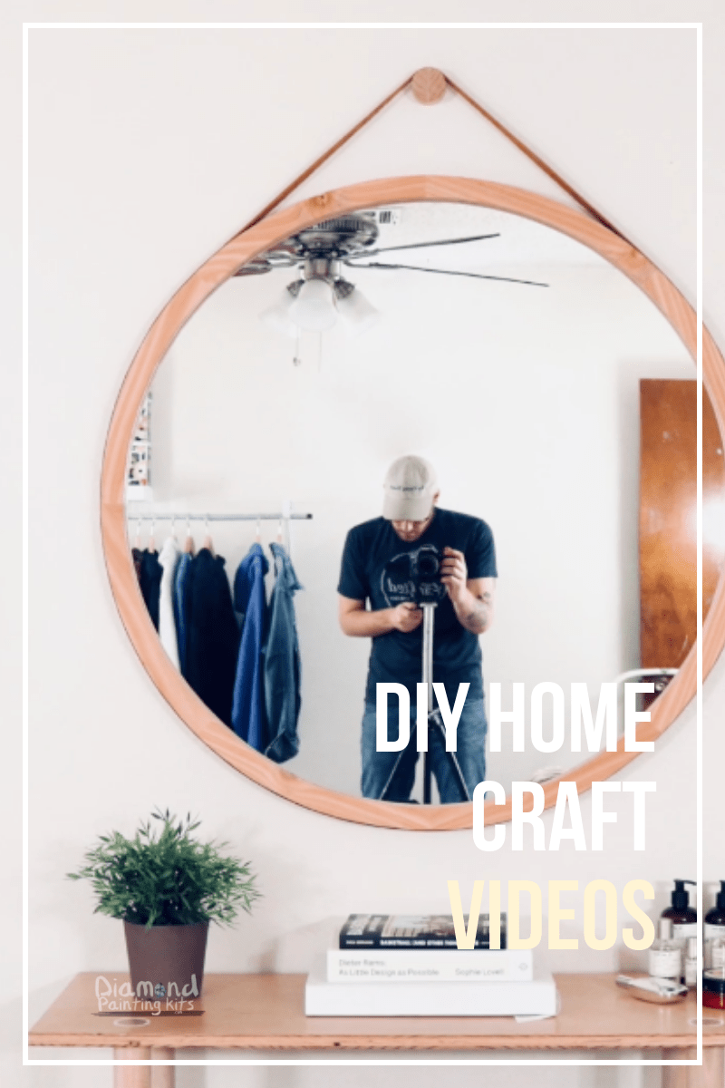 Daily Viral DIY Videos: Round Mirror, Flower Mirror, & Bottle Terrarium