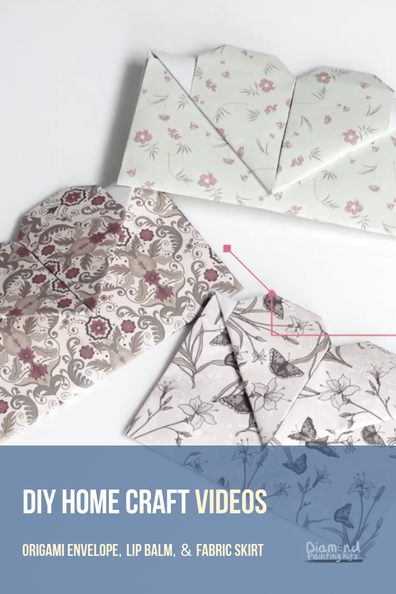 Daily Viral DIY Videos: Origami Envelope, Lip Balm, & Fabric Skirt