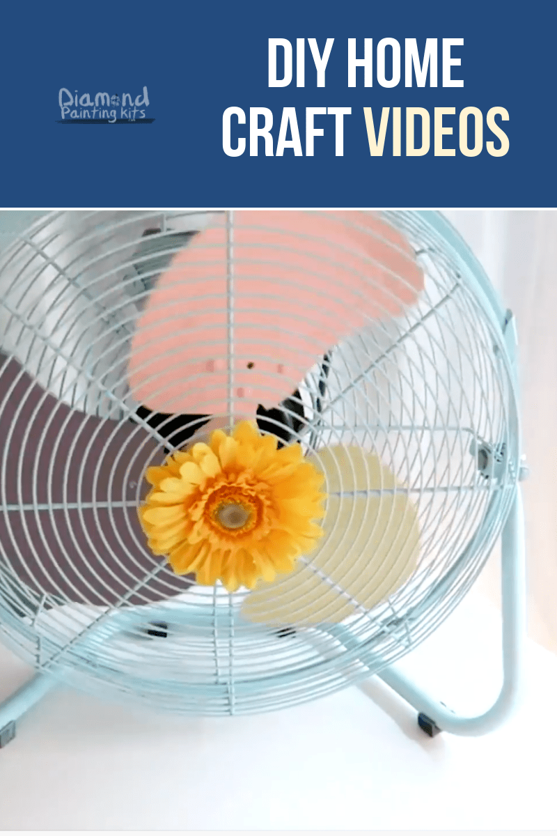 Daily Viral DIY Videos: Pastel Fan, Mobile DIY, & Grapes Lamp