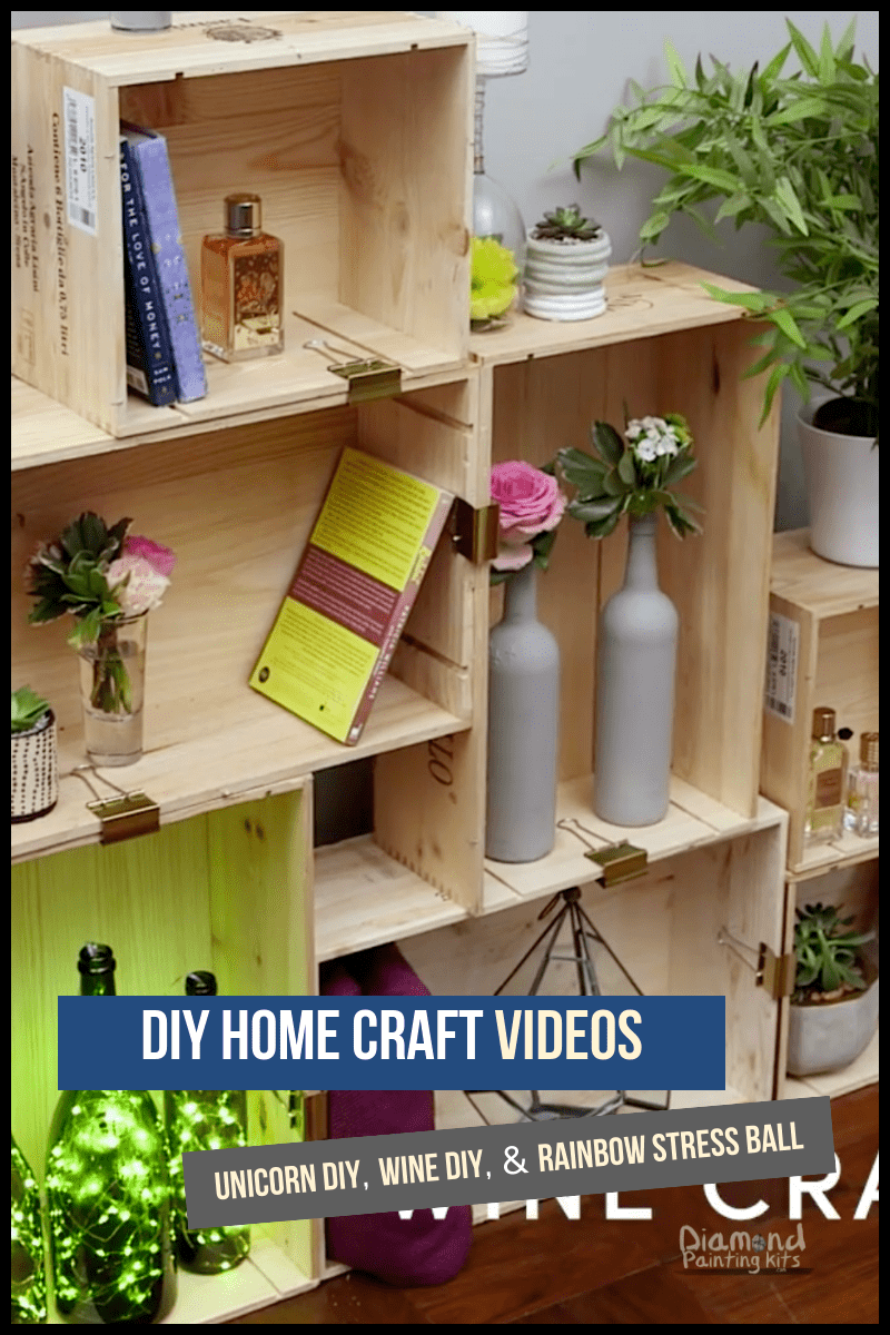 Daily Viral DIY Videos: Unicorn DIY, Wine DIY, & Rainbow Stress Ball