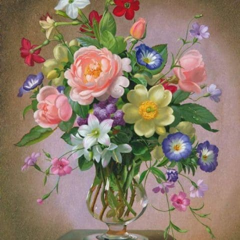 Photo of Mixed Bouquet Diamond Painting Design