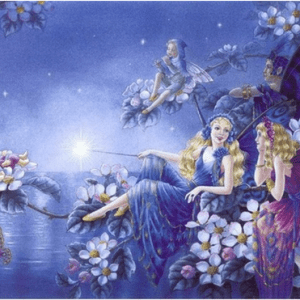 Photo of Fairy Flower Lake Diamond Painting Design