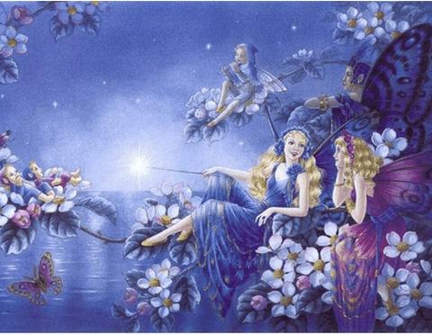 Photo of Fairy Flower Lake Diamond Painting Design