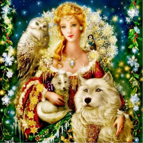 Photo of Nature Queen Diamond Painting Design