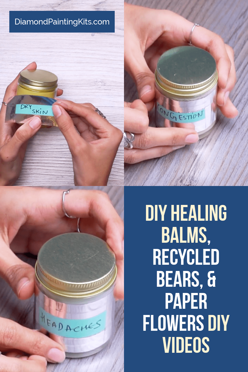 Daily Viral DIY Videos: DIY Healing Balm, Recycled Bears, & Paper Flowers