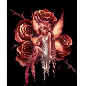 Photo of Rose Angel Diamond Painting Design