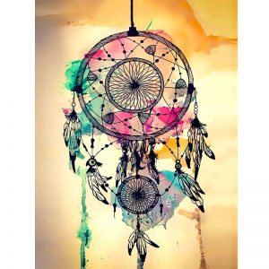 Photo of Pastel Dreamcatcher Diamond Painting Kit Design