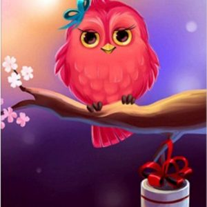 Photo of Bird Present Diamond Painting Design
