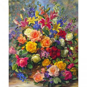 Photo of Ultimate Flower Bouquet Diamond Painting Design