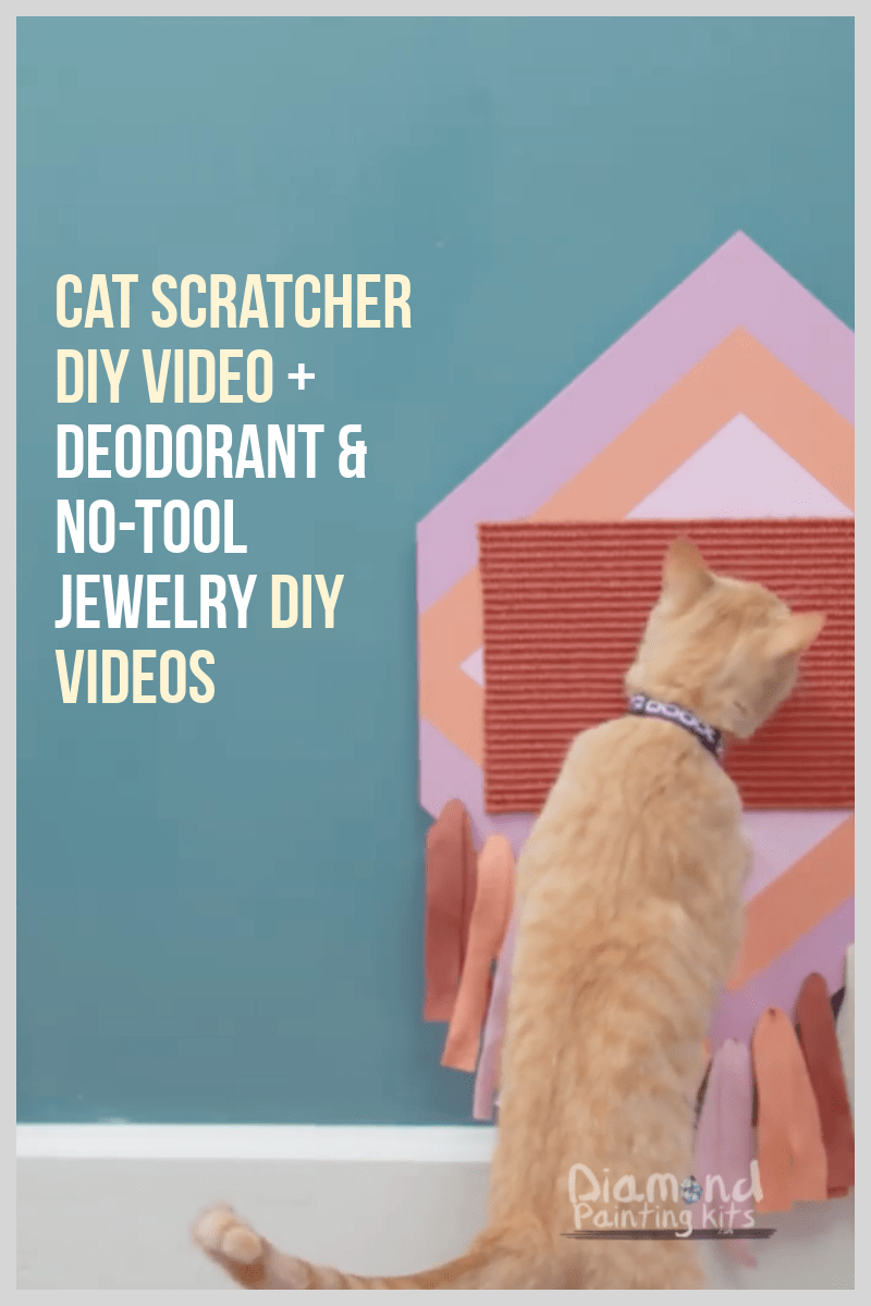 Daily Viral DIY Videos: DIY Deodorant, No-Tool Jewelry, & Cat Scratcher