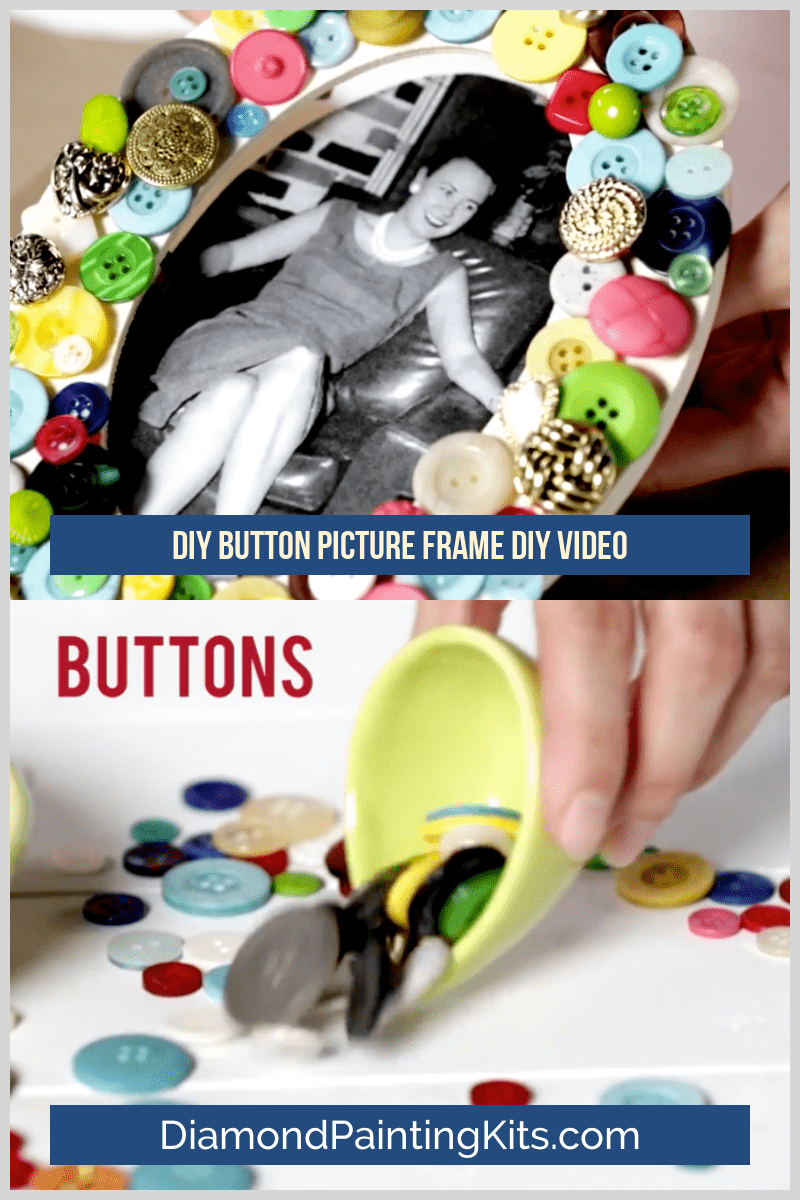 Daily Viral DIY Videos: DIY Button Picture Frame, Lava Lamp, & Home Decor