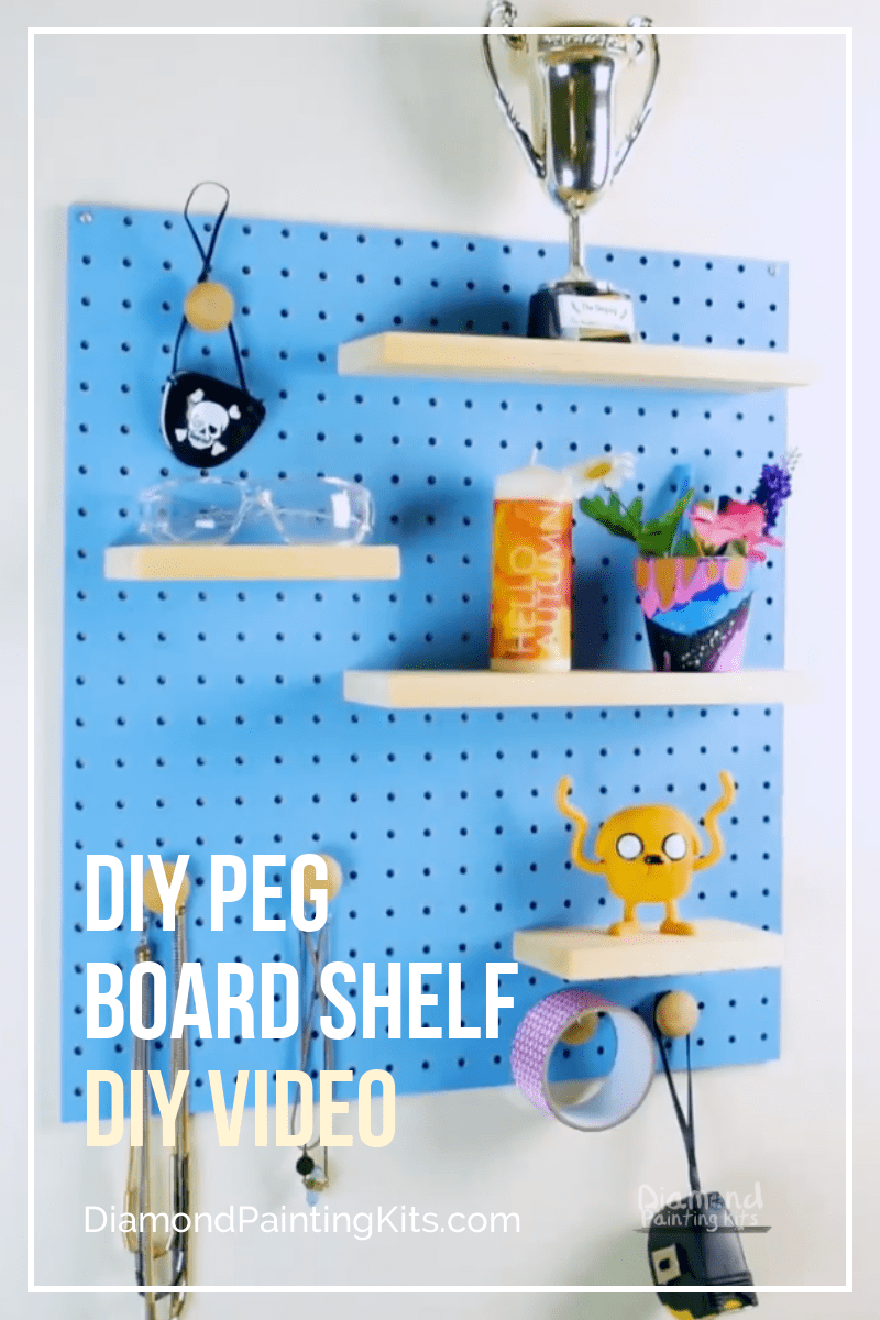 Daily Viral DIY Videos: DIY Candlestick Holders, Seashell Planter, & Peg Board Shelf