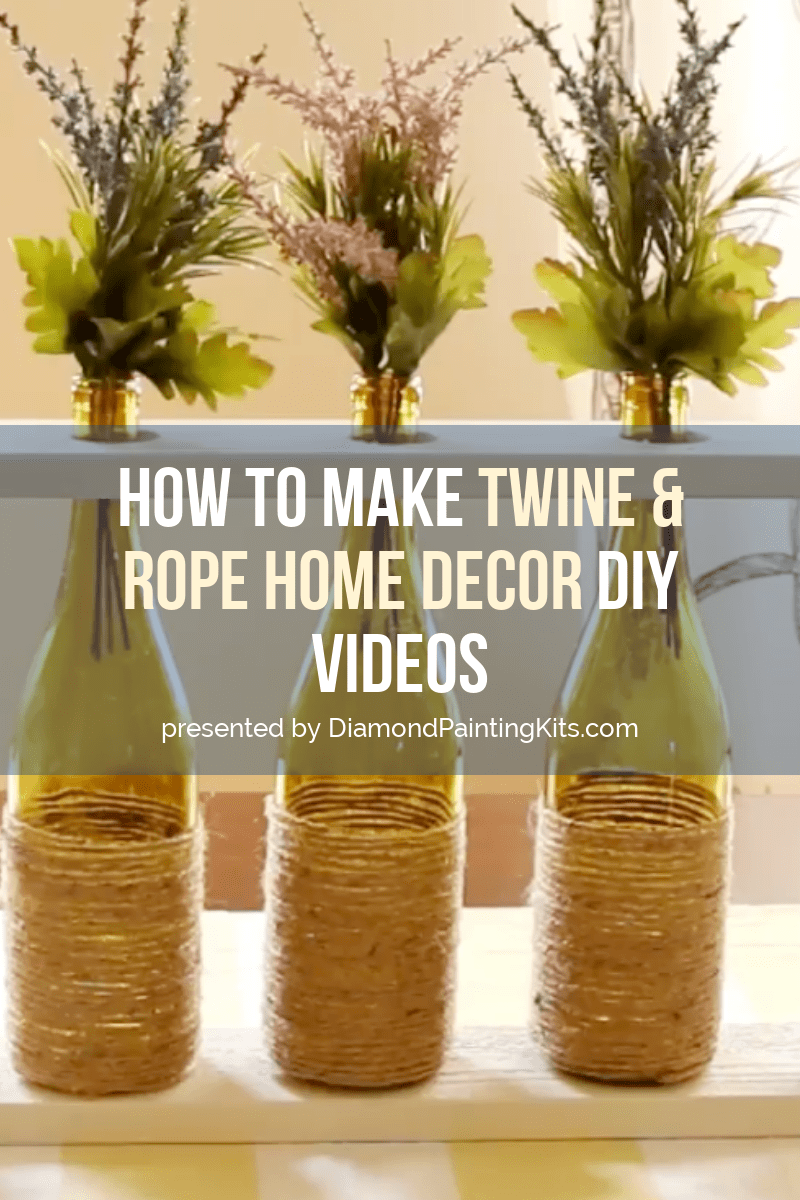 Daily Viral DIY Videos: DIY Twine Decorations, Home Decor, & Jewelry Boxes