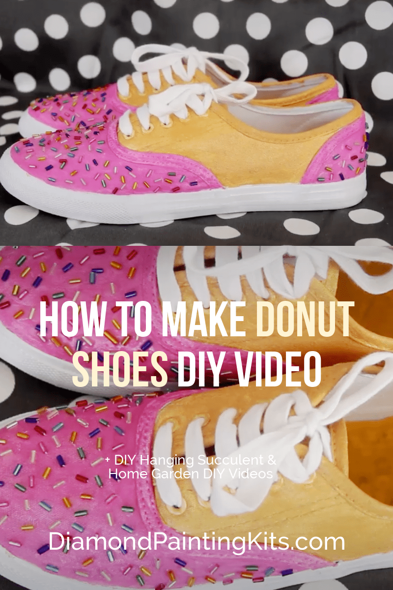 Daily Viral DIY Videos: DIY Donut Shoes, Hanging Succulent, & Home Garden