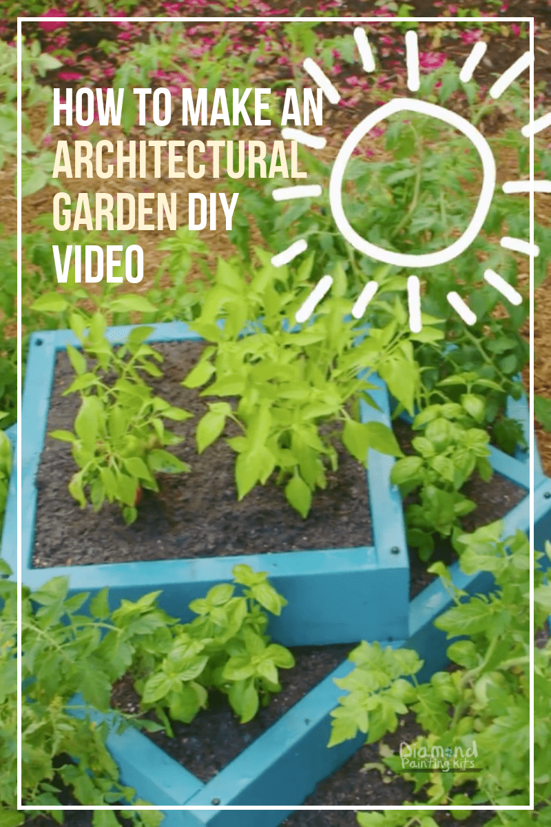Daily Viral DIY Videos: DIY Glitter Snow Globe, Up-cycled Strawberry Planter, Architectural Garden