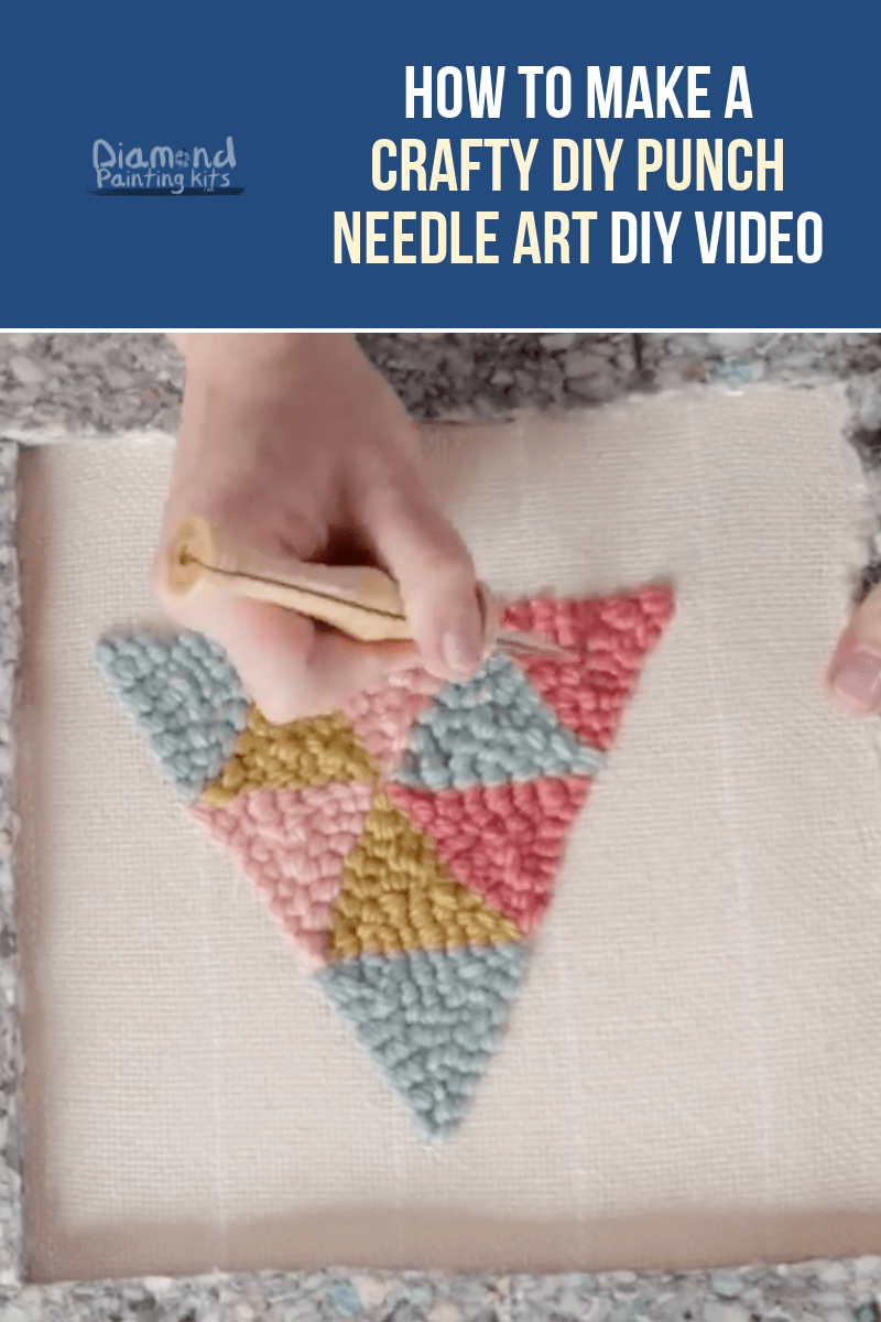 Daily Viral DIY Videos: DIY Punch Needle Art, Gardening Hacks, & Block Printing