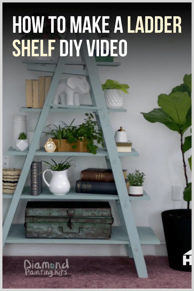 Daily Viral DIY Videos: DIY Ladder Shelf, Wind Spinner, & Wedding Favors