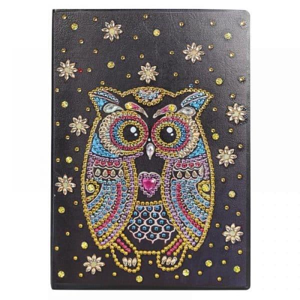 Owl Cover 2 Diamond Painting Journal Kit