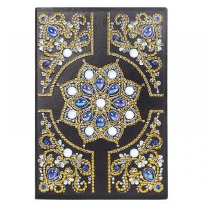 Golden Circle Cover Diamond Painting Journal Kit