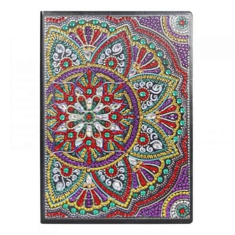 Mardi Gras Cover Diamond Painting Journal Kit