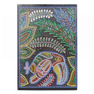 Toucan Cover Diamond Painting Journal Kit