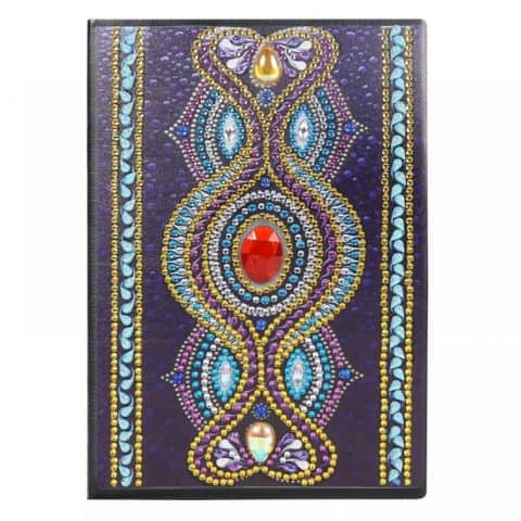 Red Ruby Cover Diamond Painting Journal Kit