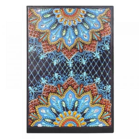 Twin Flowers Cover Diamond Painting Journal Kit